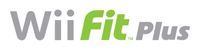 ''Wii Fit Plus'' game logo
