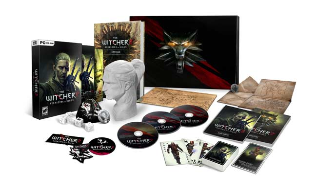 witcher2 contents collectors The Witcher 2: Assassins of Kings   Collectors Edition
