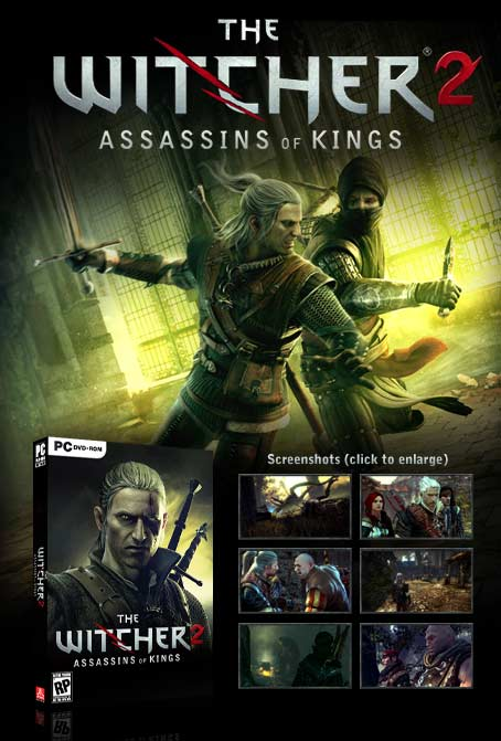 witcher2 promo The Witcher 2: Assassins of Kings   Collectors Edition