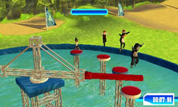 Avoiding a swinging boom in Wipeout 2