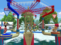 Multiplayer screen from Wipeout 2