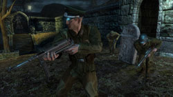 Human Nazi foe in 'Wolfenstein'
