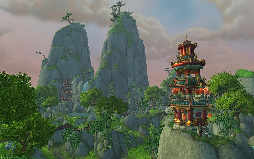 Explore the beautifully dramatic Asian inspired gameworld.