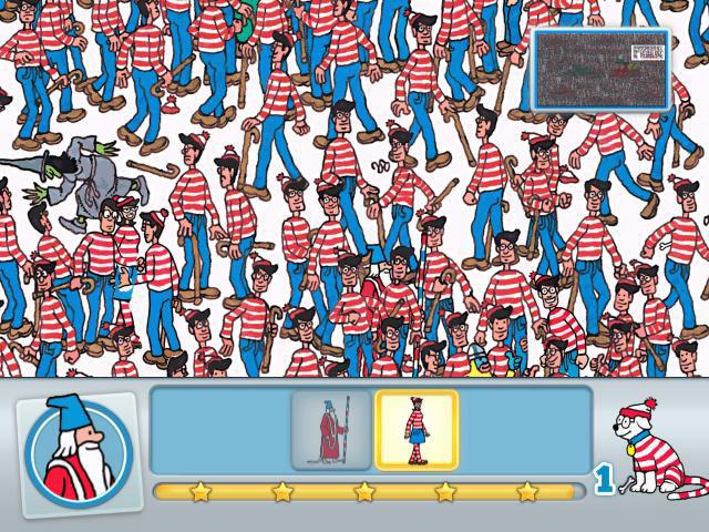 Resultado de imagem para Where's Waldo? The Fantastic Journey wii