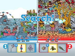 Multiplayer split-screen from Where's Waldo?: The Fantastic Journey for Wii