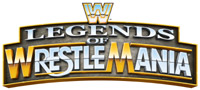 'WWE Legends of WrestleMania' game logo