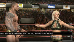 A player designed storyline in WWE SmackDown vs. Raw 2010