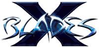 'X-Blades' game logo
