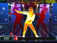 In-game instructor and tutorial in Zumba Fitness for PS3