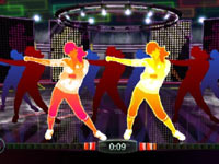 Multiplayer screen from Zumba Fitness