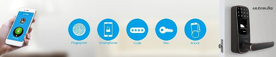 Amazon.com: Ultraloq UL3 BT Bluetooth Enabled Fingerprint ...