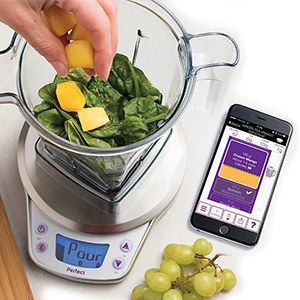 Perfect blend pro smart scale app track for Perfect kitchen pro smart scale and app system