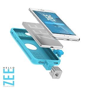 Amazon.com: hellozee iPhone 6/6S/7 – Batería Caso 2600 MH + ...