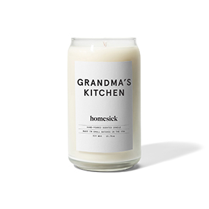 Homesick Scented Candle Grandmas Kitchen Grandma/'s Kitchen Product Labs Inc HSCA1-GMK-WH01