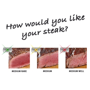Amazon Com Steakchamp The Ultimate Steak Thermometer 3