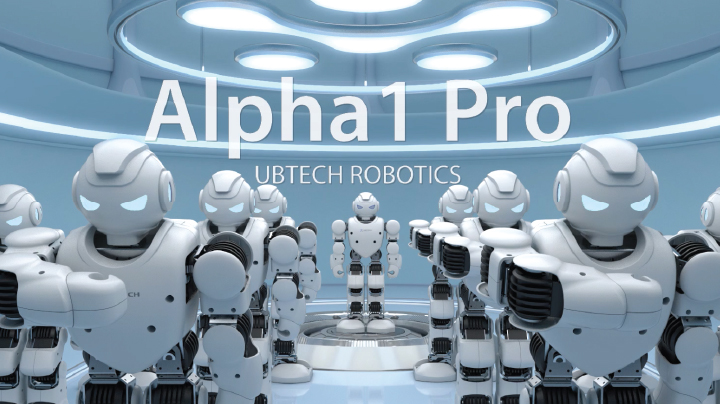 amazon com  ubtech alpha 1pro humanoid robot  amazon launchpad