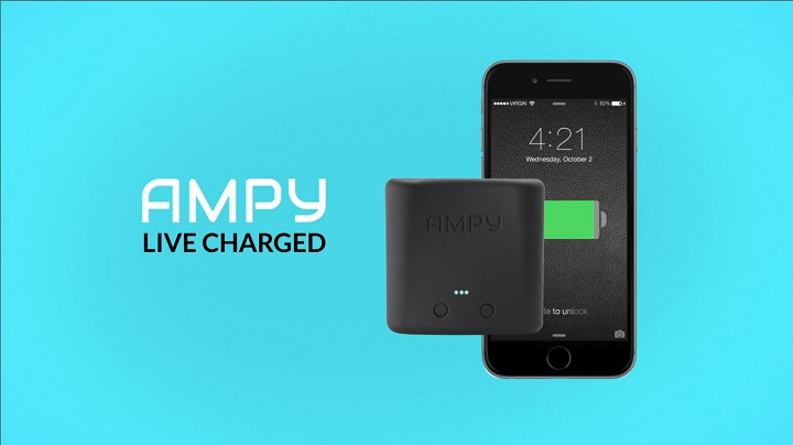 Amazon.com: AMPY Move Wearable USB Portable Motion Charger ...
