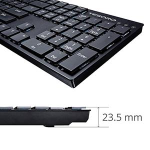 Ultra Low Profile Keyboard Design