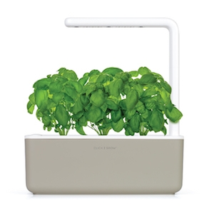 Click & Grow Smart Garden 3 Indoor Gardening Kit (Includes Basil Capsules), White 17