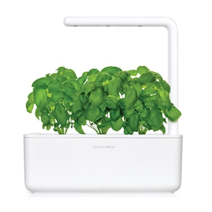 Click & Grow Smart Garden 3 Indoor Gardening Kit (Includes Basil Capsules), White 18