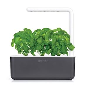Click & Grow Smart Garden 3 Indoor Gardening Kit (Includes Basil Capsules), White 19
