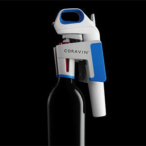 coravin one wine system cobalt blue white grey bar tools glasses. Black Bedroom Furniture Sets. Home Design Ideas