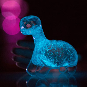 Indoor Decoration The Dino Pet A Living Bioluminescent Pet