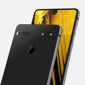 Essential Phone in Halo Gray – 128 GB Unlocked Titanium and Ceramic phone with Edge-to-Edge Display essential 04a