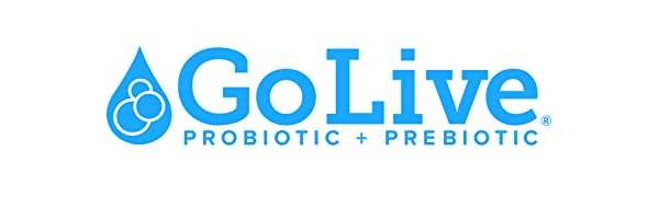Amazon Com Golive Probiotic And Prebiotic Supplement