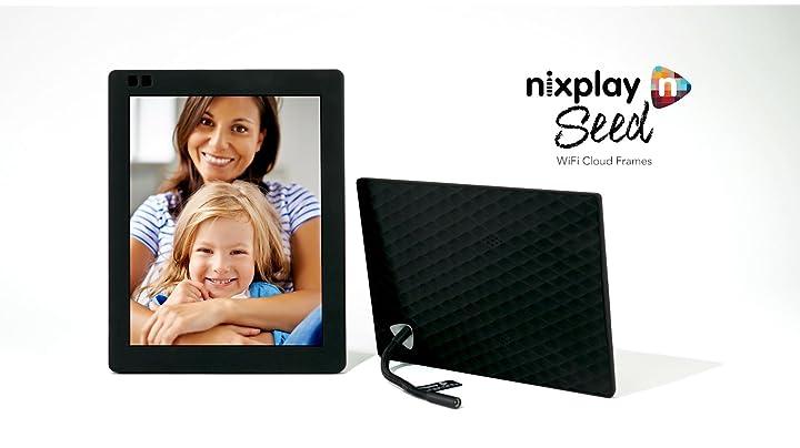 Amazon Nixplay Seed 10 Inch Wifi Cloud Digital Photo Frame