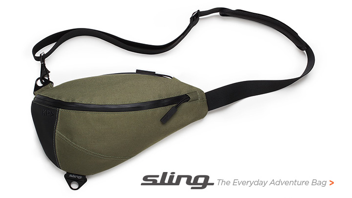 Amazon.com : KEEP PURSUING KP Sling Bag Woodland Camo with Sky ...