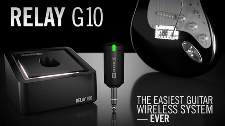 line 6 relay g10 digital wireless guitar system launchpad. Black Bedroom Furniture Sets. Home Design Ideas