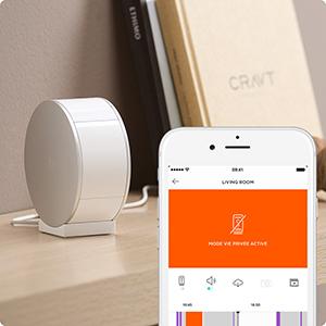 myfox wifi security camera syst me de vid o surveillance intelligent sans fil avec obturateur. Black Bedroom Furniture Sets. Home Design Ideas