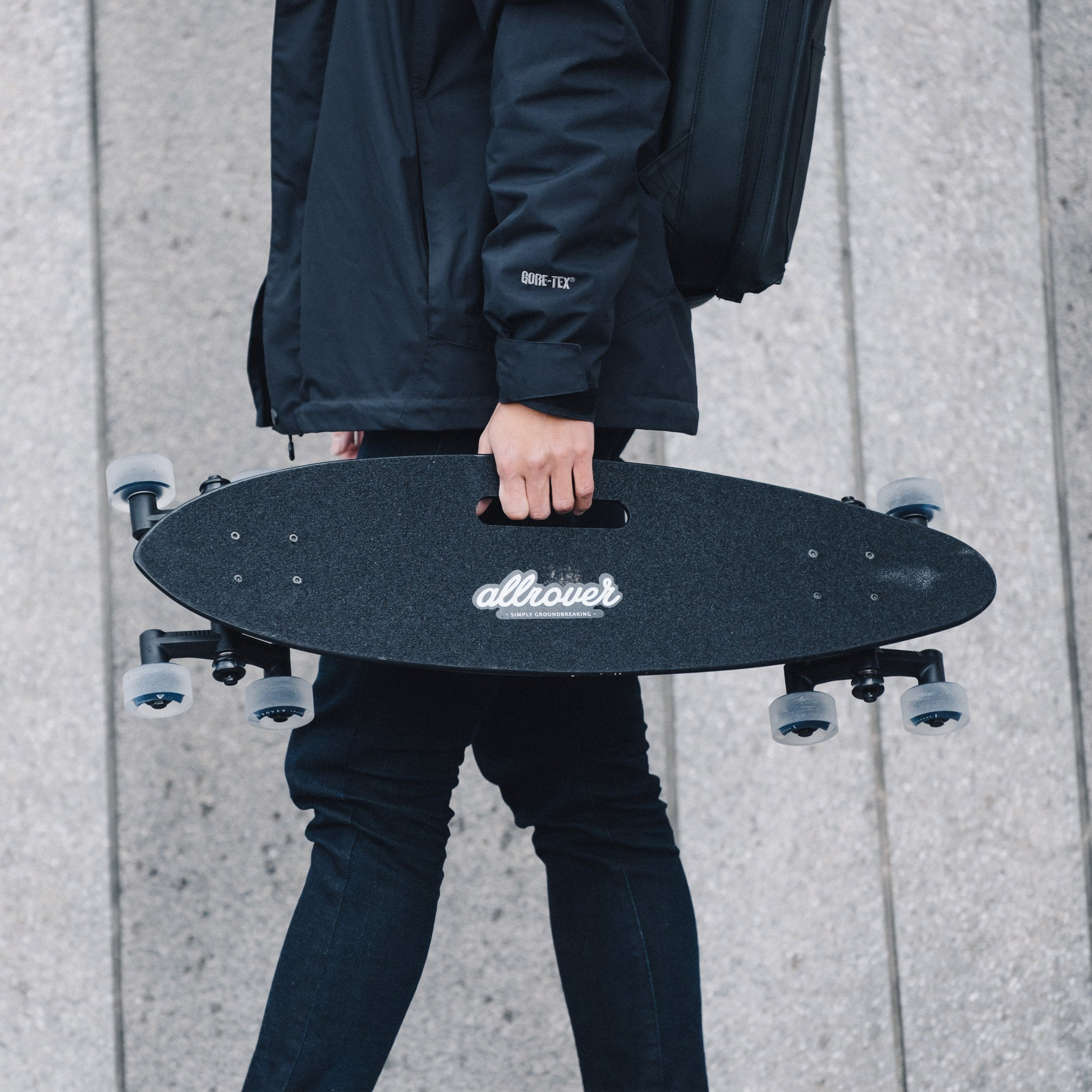 22d18eca2f63 Stair-Rover by Allrover  Surf the city with an all urban terrain longboard   Amazon.co.uk  Sports   Outdoors