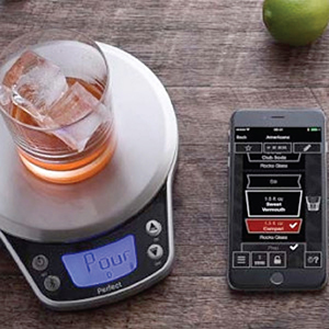 Perfect drink pro smart scale recipe app for Perfect drink bluetooth scale