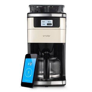 smarter coffee machine wifi connected compatible with ios and android kitchen. Black Bedroom Furniture Sets. Home Design Ideas