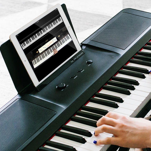 how to play piano with midmi keybioard