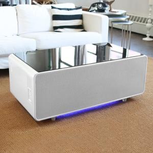Amazon Com Sobro Soctb300whbk Coffee Table With Refrigerator