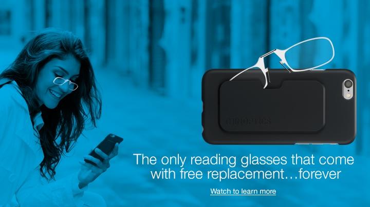 b6e36275e1 Amazon.com  ThinOPTICS Reading Glasses + iPhone SE 5 5S Case