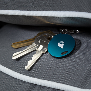 trackr bravo traceur bluetooth pour smartphone bleu gps auto. Black Bedroom Furniture Sets. Home Design Ideas