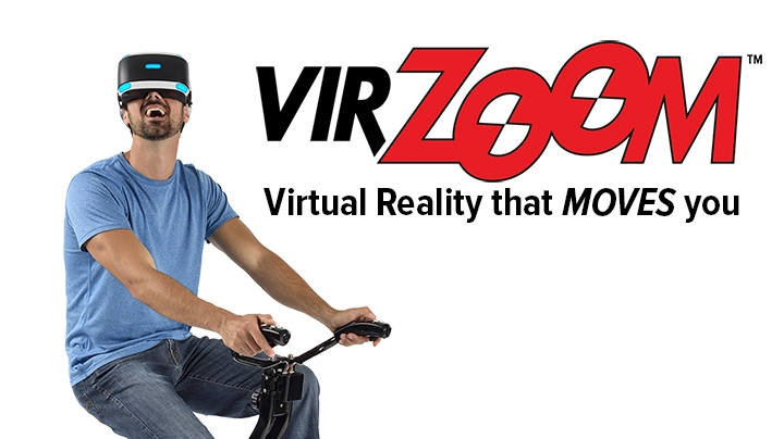 Virzoom Virtual Reality Exercise Bike And Games