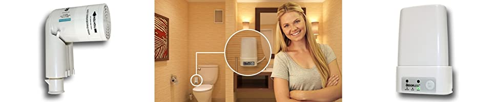 Amazon Com The Odorless Toilet Fan One Size Off White