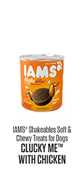 Iams Shakeables Clucky Me For Dogs Soft & Chewy Treats 6