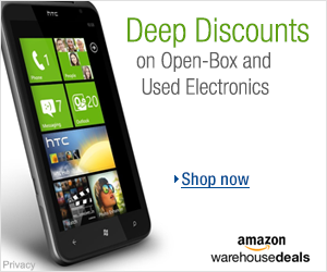 Shop Amazon Warehouse Deals - Deep Discounts on Open-box and Used Electronics