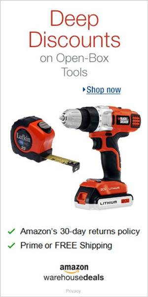 Shop Amazon Warehouse Deals - Deep Discounts on Open-box Tools & Home Improvement