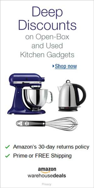 Shop Amazon Warehouse Deals - Deep Discounts on Open-box Kitchen Appliances & Gadgets