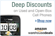 Deep Discounts on Cell Phones at Amazon Warehouse Deals