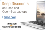 Deep Discounts on Laptops at Amazon Warehouse Deals