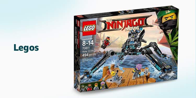 Amazon Warehouse Legos