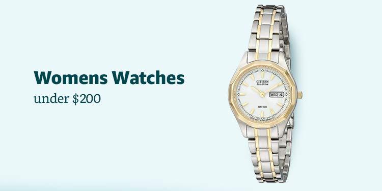 Amazon Warehouse Womens Watches under $200
